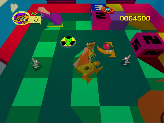 Rat Attack - Level Play Away - The fourth level in House  - User Screenshot